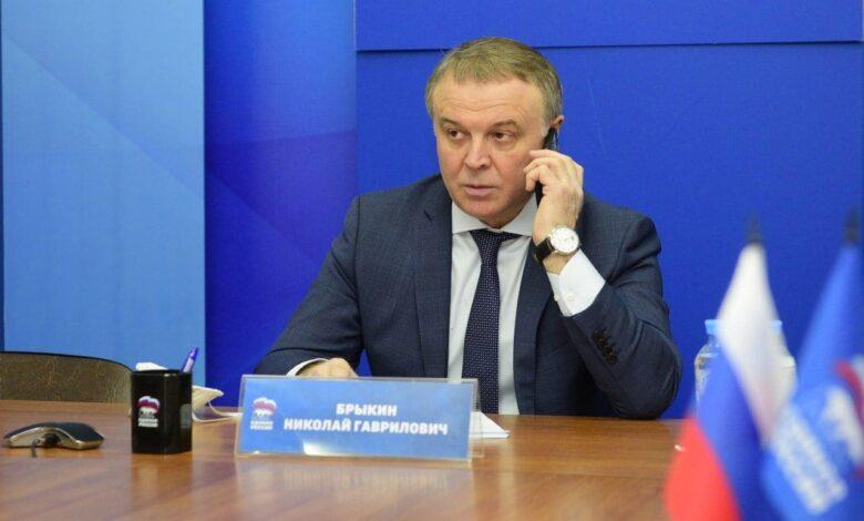 Николай Брыкин Единая Россия